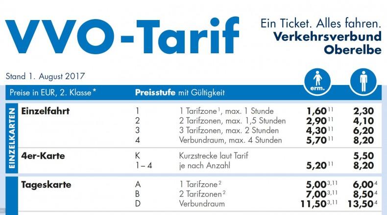 Ab 1. August gelten neue Fahrpreise