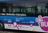 Mit dem Plus-Bus unterwegs
