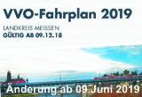 Fahrplananpassungen am 09.06.2019