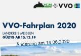 Fahrplanänderung am 14.06.2020