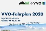 Fahrplanänderung am 20.09.2020