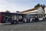 Rot-Weiße Gelenkbusse auf VGM-Linien