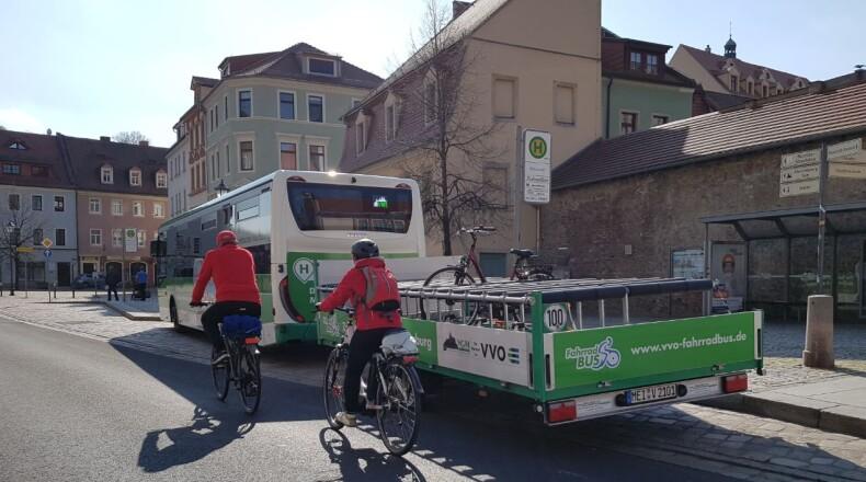 Mit dem FahrradBus durchs Elbland