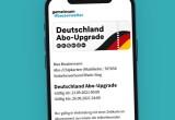Mit dem Abo quer durch Deutschland fahren